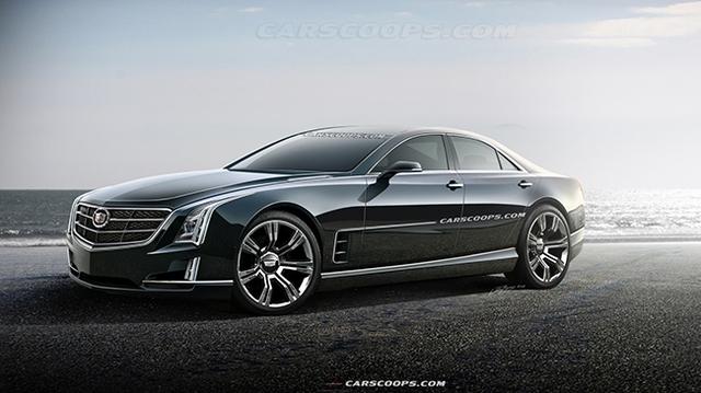 Cadillac ấp ủ mẫu sedan mới cực hot